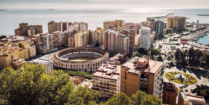 Zones de visites à Malaga